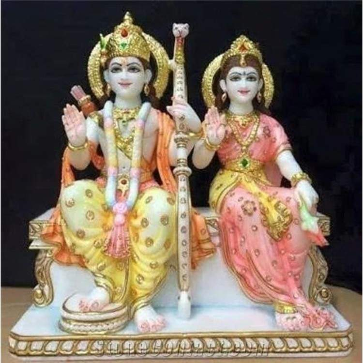 Ram and sita Murti